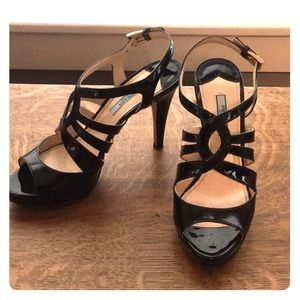 2b9c2030876e Prada Shoes - black patent leather prada pumps size 37 EUC